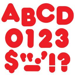 Trend (6 pk) ready letters 4in casual
