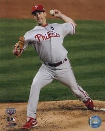 Cliff Lee Game 1 of the 2009 World Series Action PFSAALV01301