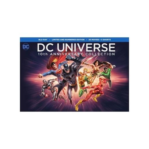 Dc universe-10th anniversary collection (blu-ray/32 disc) ABGSRLMD3YCG8GG4