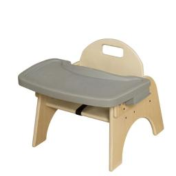 7 in. Seat Height, Woodie with Adjustable Tray