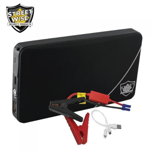 Streetwise Security Products PBAJS6 6000mAh Power Bank & Auto Jump Starter