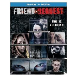 Friend request (blu ray w/digital) (ws/eng/span sub/eng sdh/5.1 dts-hd) BR52881