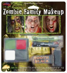 Fun World Zombie Family Make Up Kit FW9475Z
