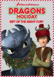 Dragons holiday-gift of the night fury (dvd) (ws/1.78:1) D07783D