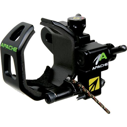 New archery products 60893 nap arrow rest drop-away apache black rh