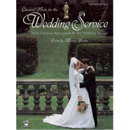 Alfred 00-447 Classical Music for the Wedding Service - Music Book