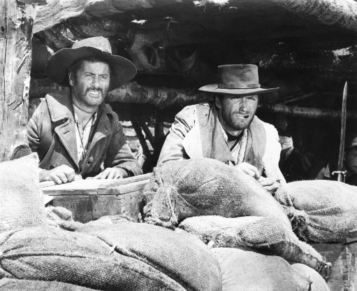 The Good The Bad And The Ugly From Left: Eli Wallach Clint Eastood 1966 Photo Print