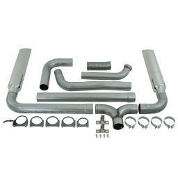 MBRP S9201AL SMOKERS Aluminized Turbo Back Exhaust System S9201AL