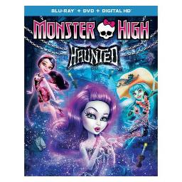 MONSTER HIGH-HAUNTED (BLU RAY/DVD W/DIGITAL HD) 25192246364