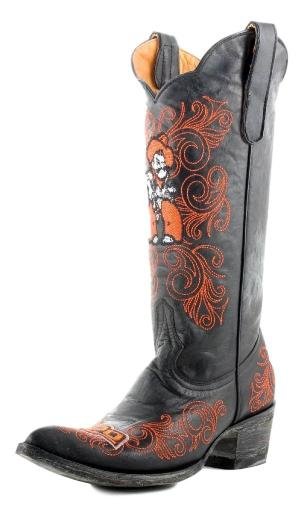 Gameday Boots Womens College Team Oklahoma State Black OSU-L004-1 1344468