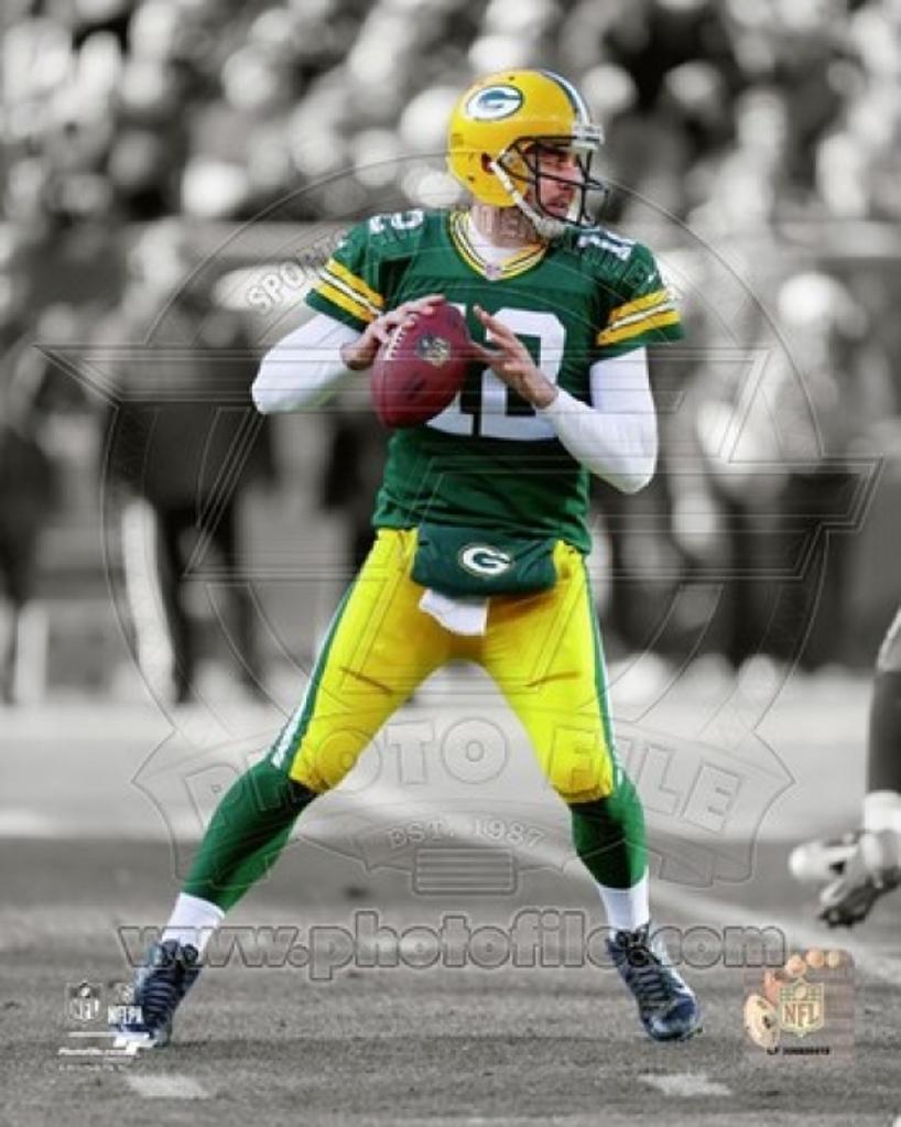 Aaron Rodgers 2012 Spotlight Action Sports Photo