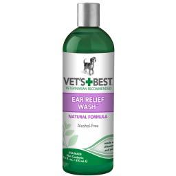 Vet'S Best 3165810043 Green Vet'S Best Dog Ear Relief Wash 16Oz Green 2.5 X 2.5 X 8.5