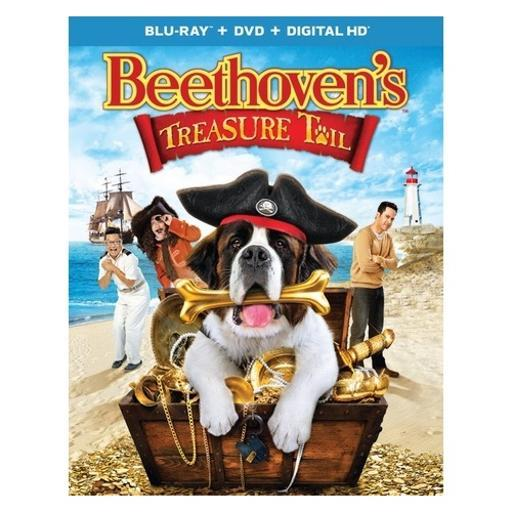 Beethovens treasure tail (blu ray/dvd w/digital hd/ultraviolet/2discs) LUM6DBNJEPEUWKR9