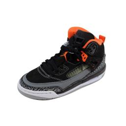Nike Air Jordan Spizike BG Black/Electric Orange-Cool Grey-Wolf Grey 317321-080