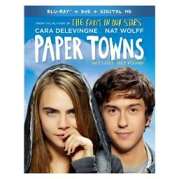 Paper towns (blu-ray/dvd/digital hd/2 disc/ws) BR2323558