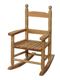 Gift Mark Childs Double Slat Back Rocking Chair - Natural