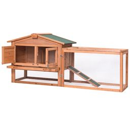 Wooden Rabbit Chicken Coop Poultry Cage