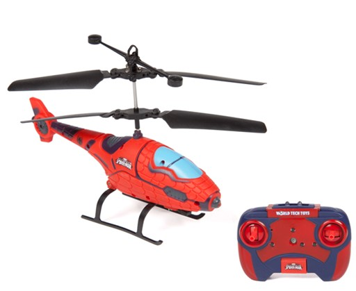 World Tech Toys Marvel Spider Man RC Helicopter 5CAFC4C51961B1C1