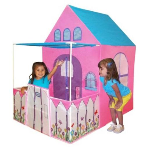 Serec Entertainment 00205-1 Little Tikes On-the-Go Victorian Cottage Playhouse with Carrying Case