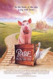 Babe Pig in the City Movie Poster (11 x 17) MOVIE7010