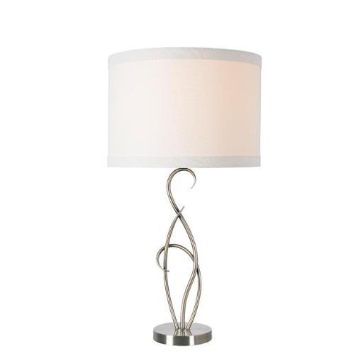 Kenroy Home 33036AB Whirl Table Lamp, Antique Brass
