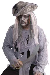 Zombie Pirate Costume Wig FM66620