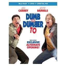 Dumb & dumber to (blu ray/dvd combo pack) (2discs) BR61131446