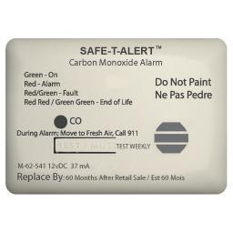 SAFE T ALERT 62 SERIES CARBON MONOXIDE 12V WITH RELAY 62-541-MARINE-RLY-NC