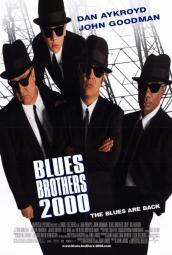 Blues Brothers 2000 Movie Poster (11 x 17) MOVED9813