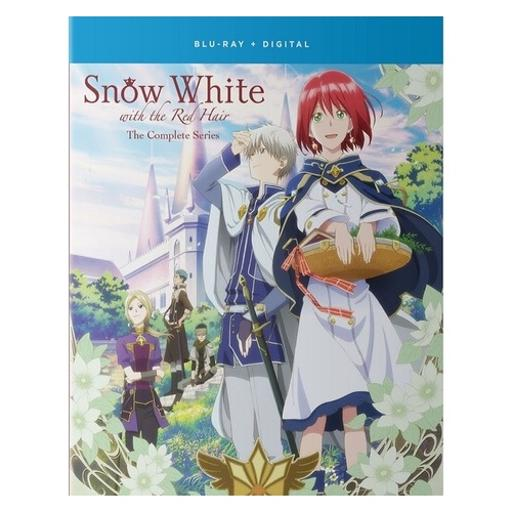 Snow white with the red hair-complete series (blu-ray/4 disc/fun digital)