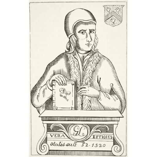 Posterazzi DPI1855782 William Lilye Or Lily Circa 1468 To 1522 English Classical Grammarian & Scholar From The National & Domestic Histo Poster Print,