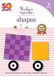 So smart-babys beginnings-shapes (dvd)                    nla