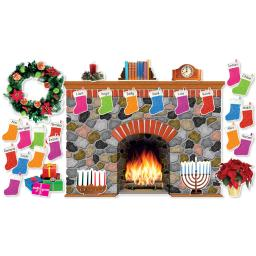 Scholastic teaching resources holiday hearth bb set 546913