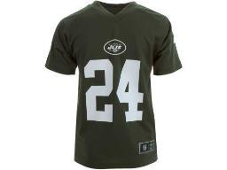 New York Jets NFL Team Apparel Darrelle Revis Kids Performance Jersey