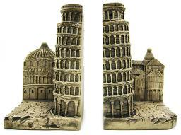Leaning Tower Of Pisa Bookends Italy