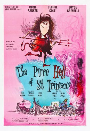 The Pure Hell Of St. Trinian'S British Poster Art 1960. Movie Poster Masterprint