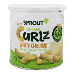 Sprout - Organic Curlz Baked Toddler Snacks Broccoli