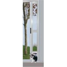 Ideal Pet Products modpatxlw Extra Large White Modular Patio Panel