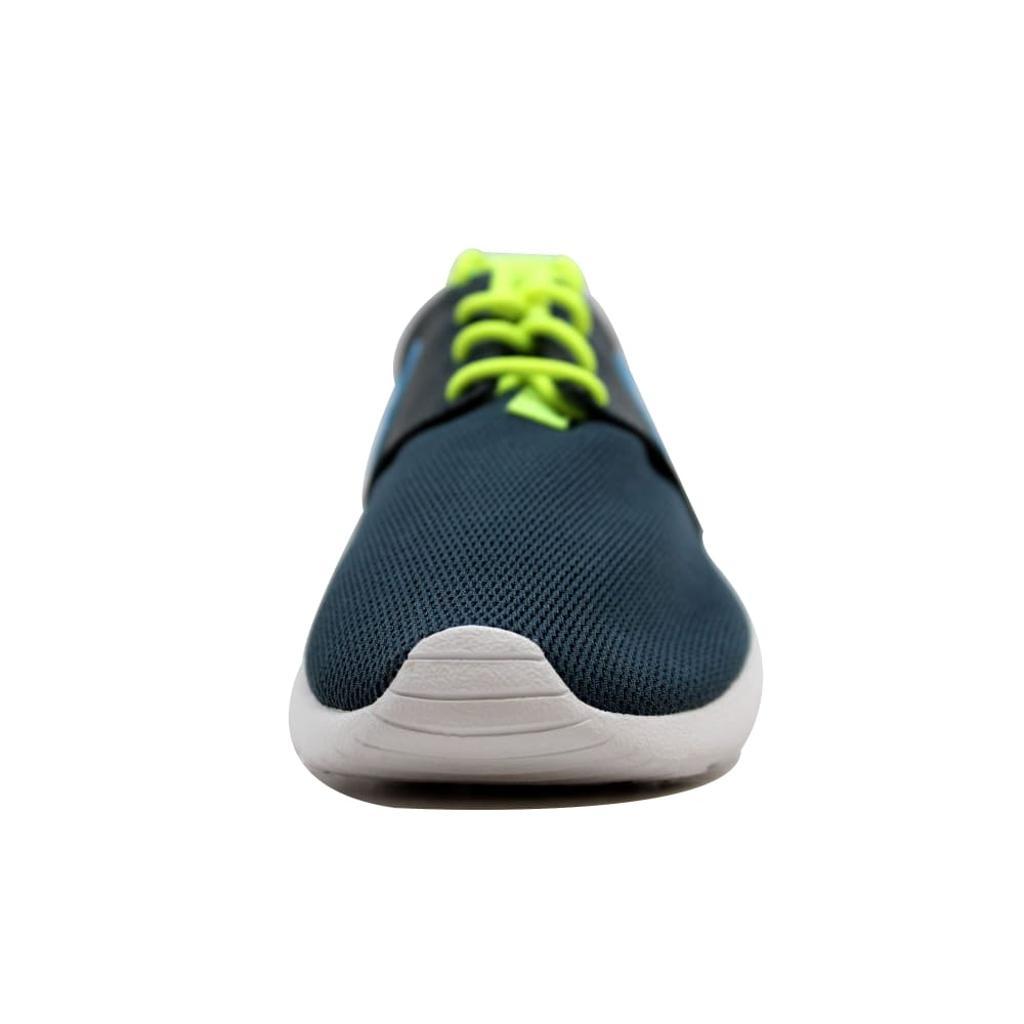 f8107e586a30 Nike Nike Rosherun Dark Magnet Grey Photo Blue-Volt-White 599728-013 ...