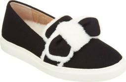 GILI Faux Fur Trimmed Slip-Ons NEW A311492