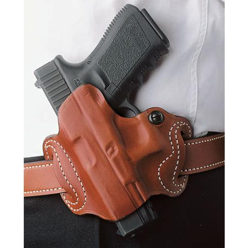 Desantis 086tbjz0 desantis mini slide holster owb lh leather sig p365 tan