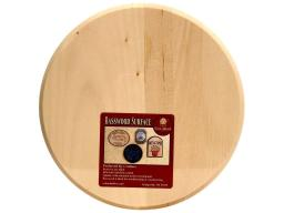 Wnh1818 walnut hollow plaque basswood circle 8x8