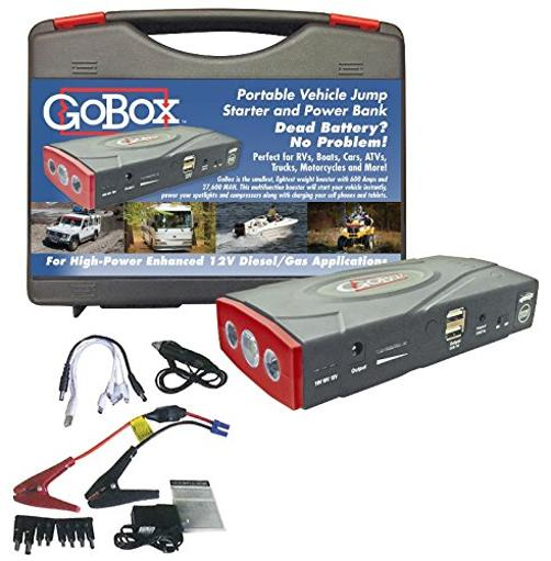 Diamond Group H11500 Gobox - Portable Vehicle Jump Starter And Power Bank