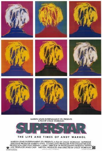 Superstar: The Life and Times of Andy Warhol Movie Poster Print (27 x 40) RBXV5PPIZJJ9PT5Y