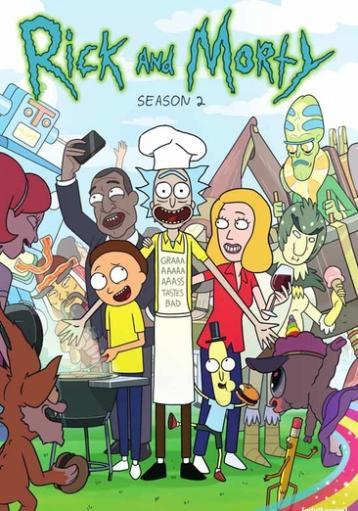 Rick & morty-complete 2nd season (dvd/2 disc) SAZK3WPPBEY73IN8