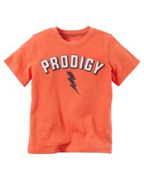 Carter's Little Boys' Prodigy Graphic Tee, 5 Kids