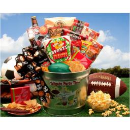 Gift Basket 851231 Greeting Cards Supply Galvanized Tailgate Party Time Gift Pail