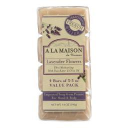 a-la-maison-bar-soap-lavender-flowers-value-4-pack-ldcx5ndljkcqkojz