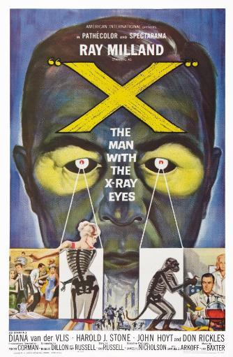 The Man With The X-Ray Eyes Us Poster Art 1963 Movie Poster Masterprint BQCFWBXJYVLN2IKJ