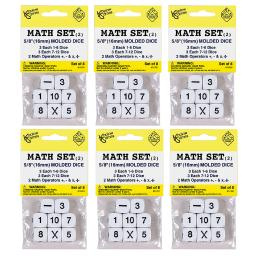 Koplow games inc 6 st whole number dice 11701bn